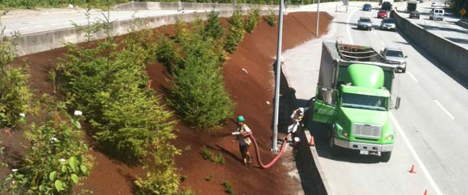 Bark Mulch Delivery West Vancouver
