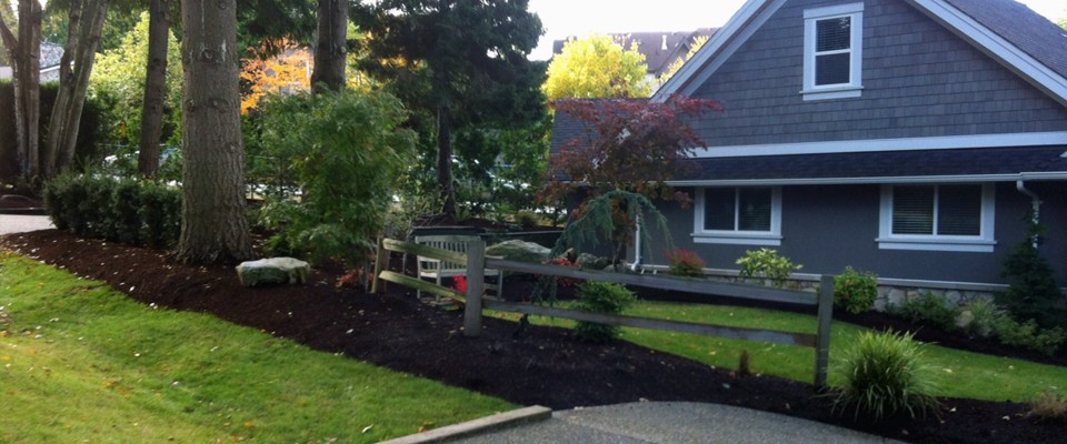 Bark Mulch Blower Vancouver